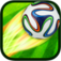 Kick Star Soccer (+6500 downloads, iOS + Android): casual kick ups game, great graphics, addictive gameplay