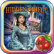 4 Bundle Apps:  Hidden Object Lost Island, Princess Christmas, Sushi Mahjong, Midnight Mysteries Witch Curse