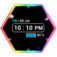 Neon Clock Widget