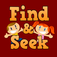 Find & seek game, Cheap and ready to go!