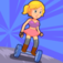 Hoverboard Girl game: 3 months life and statistic Growing -