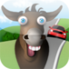 Donkey Cross - (Frogger Type) Endless Game with 50,000+ Downloads.
