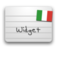 Italian Word of the Day Widget