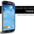 Galaxy S4 clock 500k+ downloads