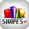 SHAPES+ Over 4000 downloads in 64 countries