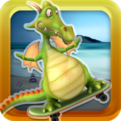 Flying Dragon Skateboard Racing Game