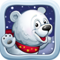 Snow Ball Bear Running Game (Tiny Wings like game)