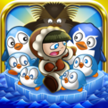 Pesky Penguins: Racing Penguin Surfers